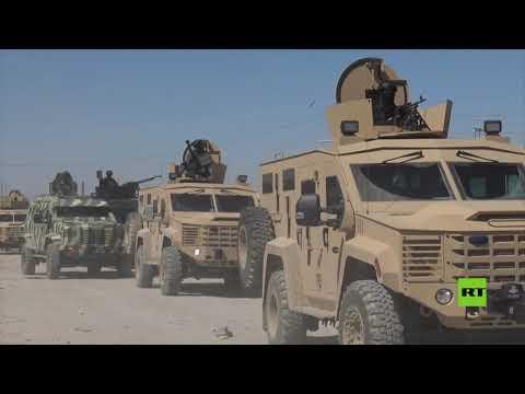 شاهد عملية تفتيش واسعة في مخيم الهول شمالي سورية