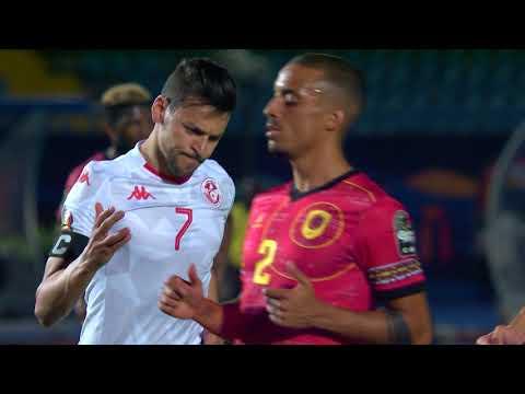 مُلخَّص وأهداف مباراة تونس وأنغولا