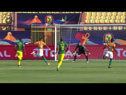 مُلخَّص وأهداف مباراة ساحل العاج وجنوب أفريقيا