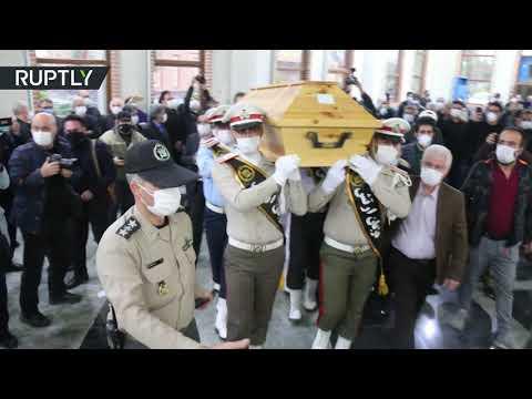 شاهد الإيرانيون يشيعون أسطورة الموسيقى الفارسية محمد رضا شجريان
