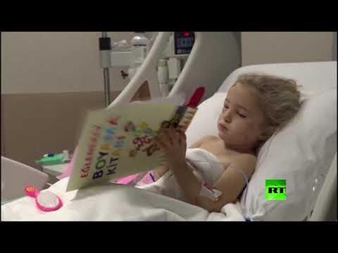 شاهد لقطات جديدة لطفلة إزمير بعد إنقاذها من تحت الأنقاض