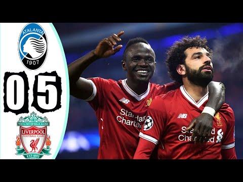 شاهد ليفربول يهين أتلانتا ويضع قدمًا في ثمن نهائي دوري أبطال أوروبا