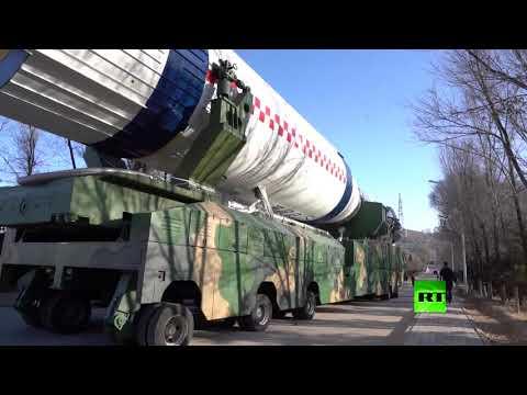 شاهد الصين تُطلق 13 قمرًا اصطناعيًا بواسطة صاروخ واحدة