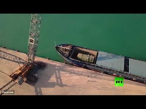 شاهد روسيا تُرسل الهيكل الخاص بأول وحدة طاقة في محطة أكربو النووية التركية