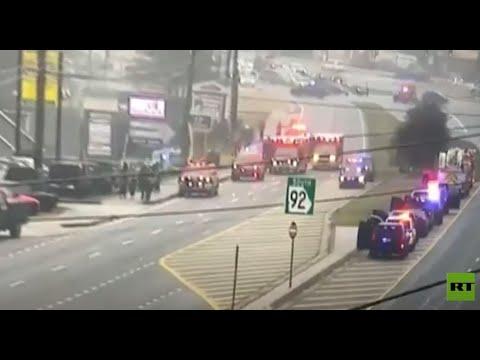 شاهد مقتل 8 أشخاص بإطلاق نار في مراكز تدليك